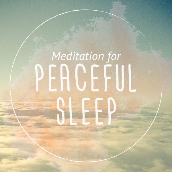 Sleep Well Guided Meditation