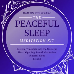 Peaceful Sleep Meditation Kit